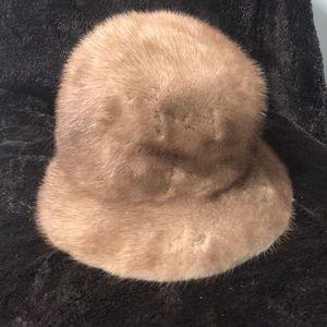 Mink vintage Hat
